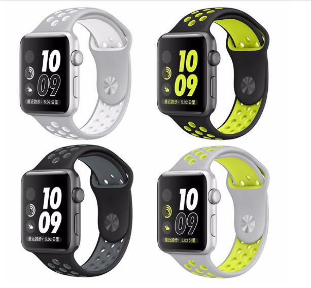 Hot New Alibaba Wholesale interchangeable strap watch for Apple Watch NIKE Sport band