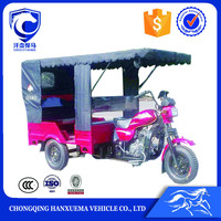 new design 6 seats taxi passenger three wheel motorcycle for Asia market