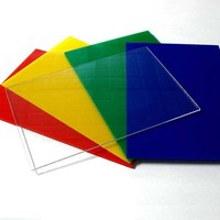 Shanghai Fochier rigid plastic sheet good processing performance hard clear plastic sheet