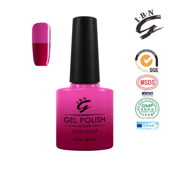 Color change gel Mood Nails Colour Changing Soak-Off Gels