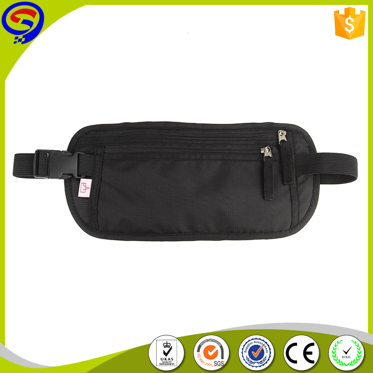 RFID blocking multi-function fanny pack sport waist bag, running belt
