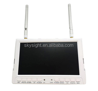 skysight RC708 40ch 5.8ghz wireless video transmitter diverity receiver