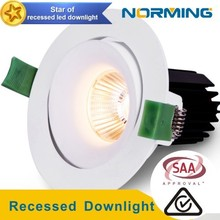 aluminum housing LED MR16 Modul,adjustable 12v led downlight bulbs