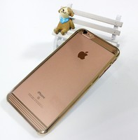 OEM Golden Metal Phone Case , Cell Phone Case For Iphone5,5s,6,6s