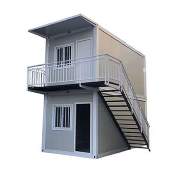 Prefeb High Quality 2-story Living Homes Container Houses Luxury