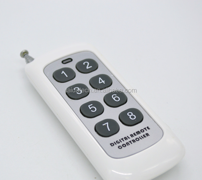 8 key 433M remote control <strong>1000</strong> meters remote control wireless remote control
