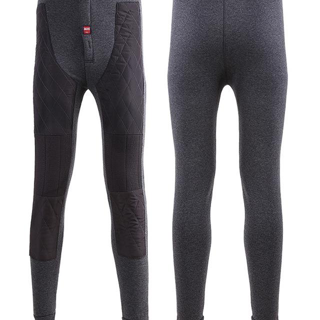 Men's Women's Stretch Sport Performance For Warm Leggings, Size:XL/2XL/3XL/4XL , Black