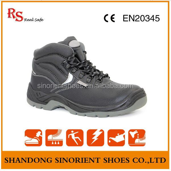Forest Ranger Black executive safety shoes Mens Made in china RS244