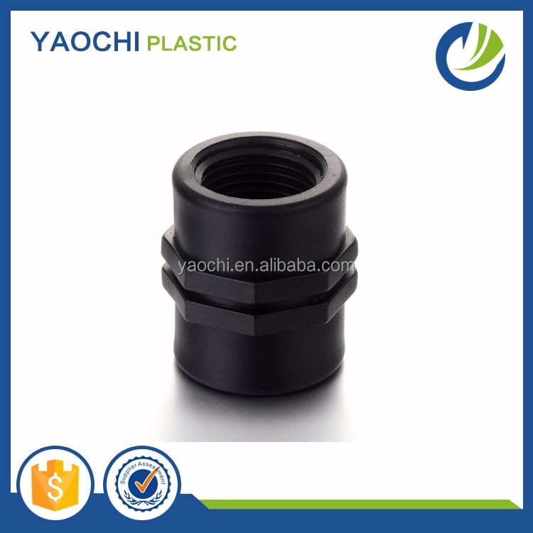 Chinese supplier snap coupling pp male female thread adapter pipe repair coupling