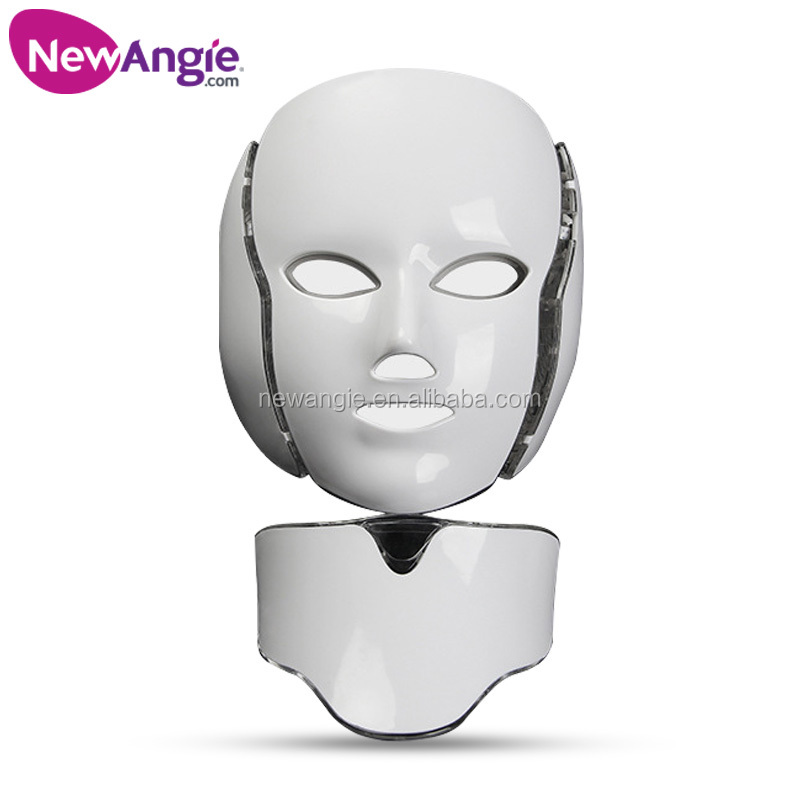Facial beauty treatment seven colors Light therapy led mask face
