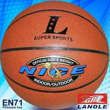 PVC leather basket balls inflated leather balls PU basketball