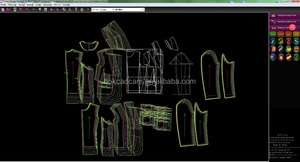 High quality garment cad software 3D textile design fabric CAD software for woven knitting machine