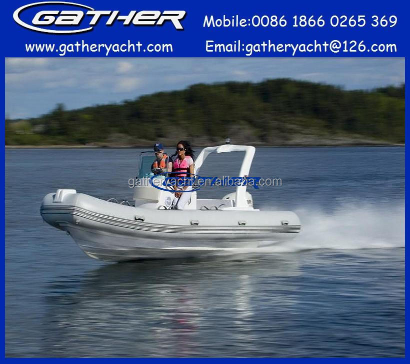 hot sale 19ft center console boat RIB580