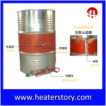 silicone rubber oil drum heater 200L with thermostat