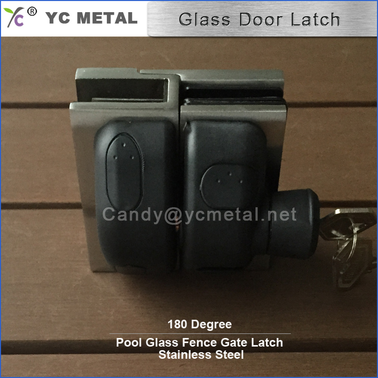Two Sided Gate Latch 316/304 Stainless Steel Lockable Latch
