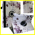 Custom image Case for ipad mini for ipad 6 pu leather Printing Case Custom for ipad Case 360 Rotated Morning Glory Pattern DIY