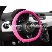 high quality Glow In The Dark heat resistant silicone steering wheel cover