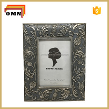 European Style Resin Grey Color Photo Picture Frame