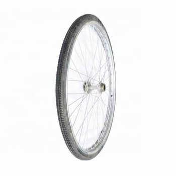 "24"" Polyurethane Bicycle Tires Bike Wheel For Wheelchair"