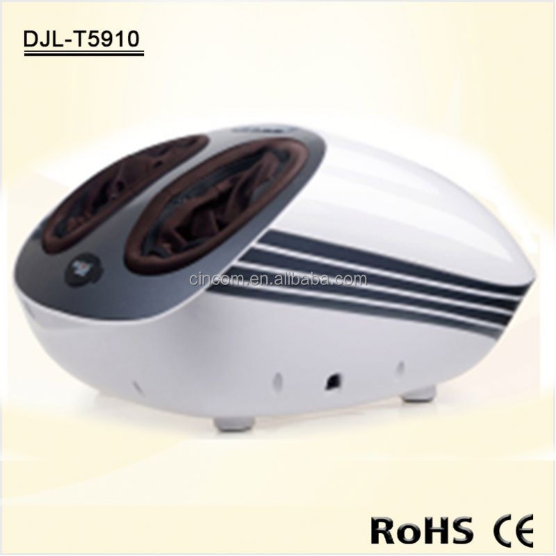 Air pressure kneading foot and leg massage machine