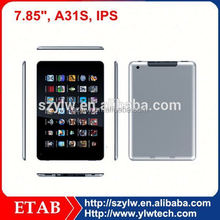 Hot selling A31S Quad core tablet pcs