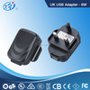 USB AC Adapter within 6w max for