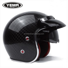 Carbon fiber open face motorcycle helmet Top sale CE/DOT certificate Helmet for motorcycle accessary 628
