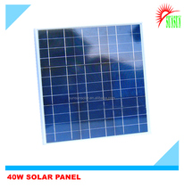 Best quality 40 watt 16 volt Mono solar panel