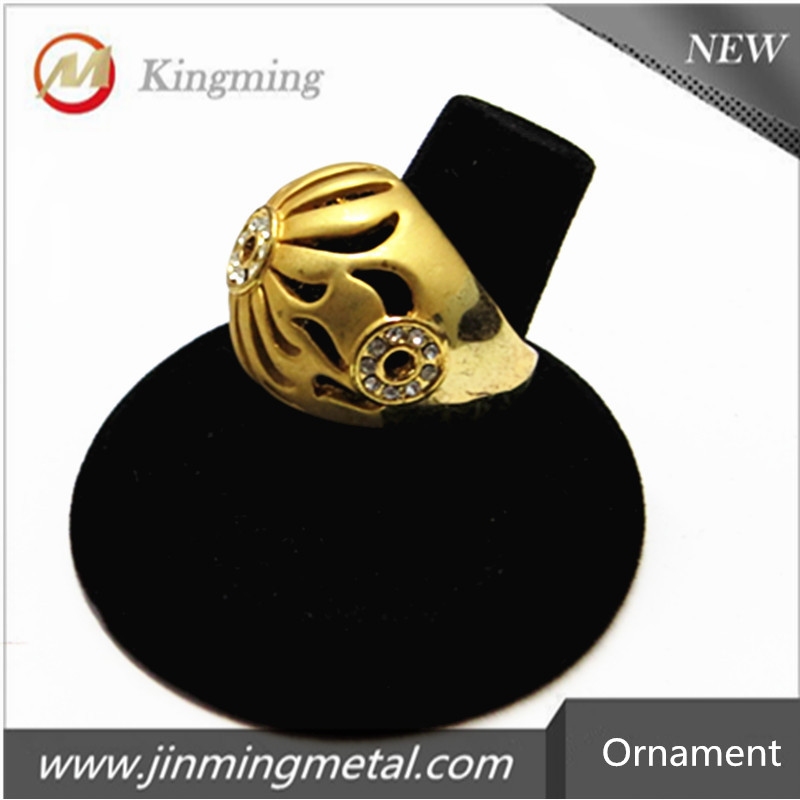 Gold Color Zinc Alloy Finger Ring