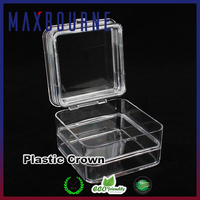 hotselling clear 3 inch plastic Rectangular membranes box for dental