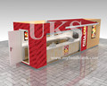 2017 hot selling outdoor pizza kiosk , snack kiosk, retail fast food kiosk for sale