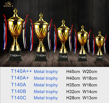 Cheap Gold Plated Metal Trophy Cup Metal Craft Metal Award