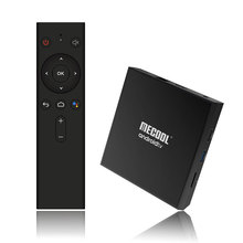 new arrival voice <strong>remote</strong> control certificated km9 pro android tv box
