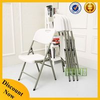 China factory blow mold folding chair plastic, folding chair outdoor
