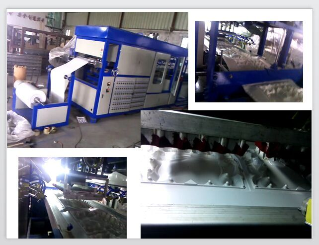 RJD-620 Plastic Vacuum Forming Machine/toothbrush plastic packaging machine/plastic food container