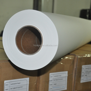 Ultra 50gsm/58gsm/70gsm Sublimation Transfer Paper For Sublimation Printing Machine