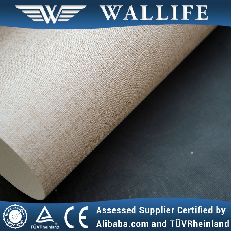 WLF0906 / durable wallpaper fabric backed / fabric based vinyl wallcoverings