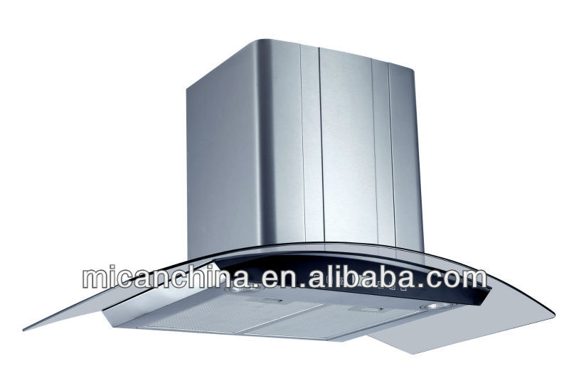900mm ACR-shaped kitchen chimney H26-9SD
