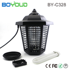 Environmentally friendly weatherproof IP24 UV LED mosquito killer lamp insect catcher