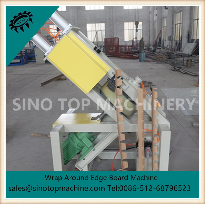 Model 120AS continuous V recutting  cardboard protection machine