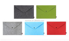high quality wool felt A4 document folder for business