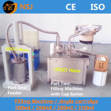 cartridge filling machine for silicone sealant 300ml