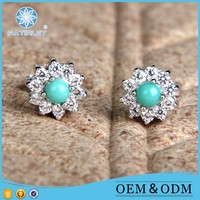 Fashion Jewelry With Natural Turquoise Stone