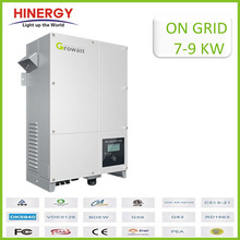 dc ac charger inverter 7KW 8KW 9KW hybrid solar inverter off and on grid solar power inverter 3 phase 48v