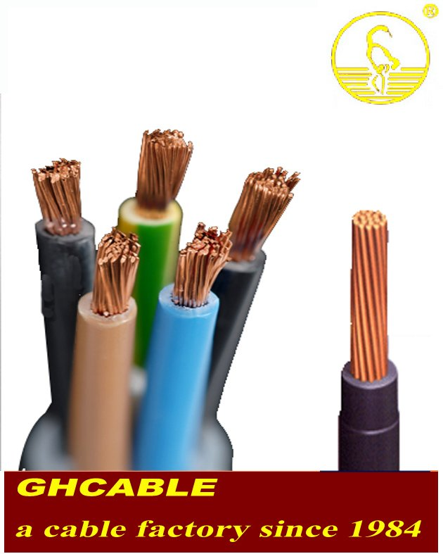 PVC Insulated Nylon Sheath Electric Wires and Cables THHN
