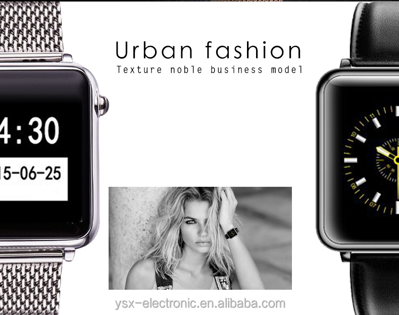 Hot sale Synchronizing contact list music function smart watch for iphone