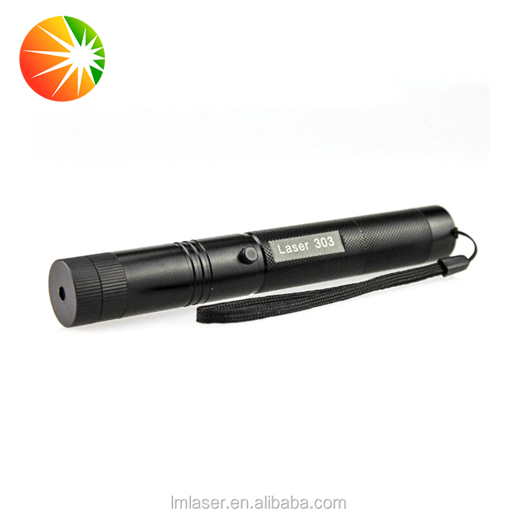 Custom Made Waterproof Led Flashlight Green Laser Pointer 50mW With Safety Lock