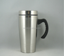 Double Wall stainless steel Eco Friendly auto travel Mug coffee cup