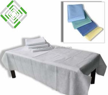 PP nonwoven disposable hospital bed sheet sale in roll/pieces