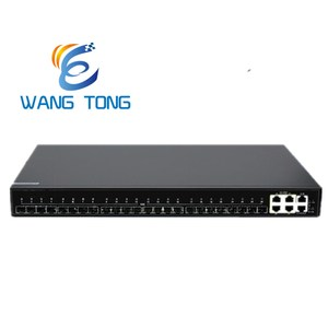 StrongTechnical Team 24 port 4GE TP +24SFP+10G Ethernet SNMP Combo CLI Telnet Console NMS Managed VLAN Fiber Network Switch